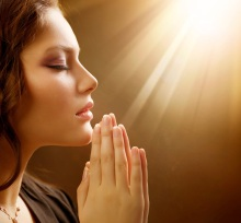 Mujer+orando