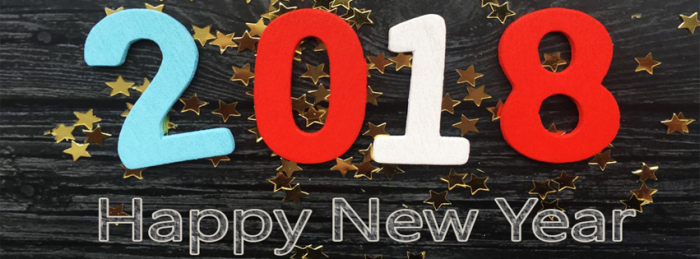 Black-3D-New-Year-2018-Facebook-Cover-image